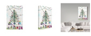 "Trademark Global Irina Trzaskos Studio 'Christmas Joy 4' Canvas Art - 24"" x 16"" x 2"""