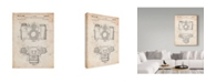 "Trademark Innovations Cole Borders 'Camera' Canvas Art - 32"" x 24"" x 2"""