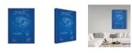 "Trademark Global Cole Borders 'Mechanics 3' Canvas Art - 24"" x 18"" x 2"""