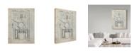 "Trademark Global Cole Borders 'Mechanics 23' Canvas Art - 19"" x 14"" x 2"""