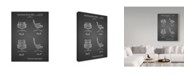 "Trademark Global Cole Borders 'Office Chair' Canvas Art - 47"" x 35"" x 2"""