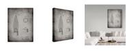 "Trademark Innovations Cole Borders 'Bunsen Burner Gas Distribution' Canvas Art - 24"" x 18"" x 2"""