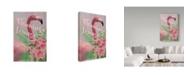 "Trademark Global Cora Niele 'Flamingo Lounge' Canvas Art - 47"" x 30"" x 2"""