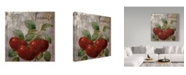 """Trademark Global Color Bakery 'Medley Gold Tomato' Canvas Art - 18"""" x 18"""" x 2"""""""