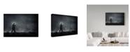 "Trademark Global Jaap Van Den 'Fog I' Canvas Art - 24"" x 2"" x 16"""