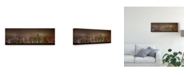 """Trademark Global Daniel Murphy 'Hong Kong Island' Canvas Art - 47"""" x 2"""" x 16"""""""