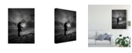 "Trademark Global David Senechal Photographie 'The Reader Abstract' Canvas Art - 14"" x 2"" x 19"""