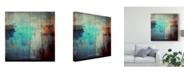 "Trademark Global Dalibor Davidovic 'One Way Shadows' Canvas Art - 18"" x 2"" x 18"""