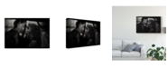 "Trademark Global Dalibor Davidovic 'Shadows The Kiss' Canvas Art - 32"" x 2"" x 22"""