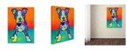 """Trademark Global Dean Russo 'On My Own' Canvas Art - 19"""" x 14"""" x 2"""""""