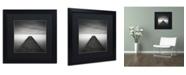 "Trademark Global Dave MacVicar 'Edge Of Reality' Matted Framed Art - 16"" x 16"" x 0.5"""