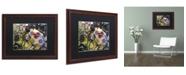 """Trademark Global Dan Monteavaro 'Dinner PA' Matted Framed Art - 20"""" x 16"""" x 0.5"""""""