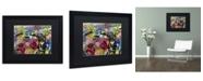 """Trademark Global Dan Monteavaro 'Fearless Heartache' Matted Framed Art - 16"""" x 20"""" x 0.5"""""""