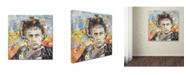 "Trademark Global Ines Kouidis 'That Guy's Gotta Stop' Canvas Art - 24"" x 24"" x 2"""