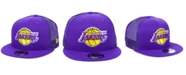 New Era Los Angeles Lakers Nothing But Net 9FIFTY Snapback Cap