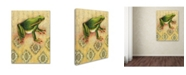 "Trademark Global Rachel Paxton 'Frog 3' Canvas Art - 24"" x 18"" x 2"""