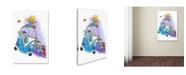 "Trademark Global Michelle Campbell 'Dash Hounds' Canvas Art - 19"" x 12"" x 2"""