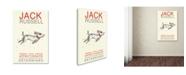 "Trademark Global Michelle Campbell 'Jack' Canvas Art - 32"" x 22"" x 2"""