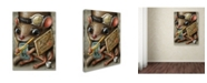 "Trademark Global Jason Limon 'Refusuffix 05' Canvas Art - 32"" x 24"" x 2"""