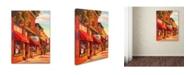 "Trademark Global Wanda Mumm 'The Gallery' Canvas Art - 24"" x 18"" x 2"""