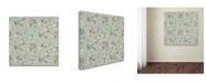 "Trademark Global Yachal Design 'JOY 200.4' Canvas Art - 14"" x 14"" x 2"""
