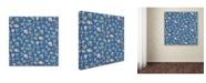 "Trademark Global Yachal Design 'Floral Bouquet 101' Canvas Art - 14"" x 14"" x 2"""