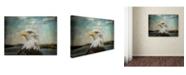 "Trademark Global Jai Johnson 'The Overseer' Canvas Art - 24"" x 18"" x 2"""