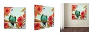 "Trademark Global Sylvie Demers 'Feather Bellies' Canvas Art - 24"" x 24"" x 2"""