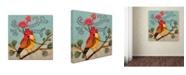 "Trademark Global Sylvie Demers 'Partout Chez Moi' Canvas Art - 24"" x 24"" x 2"""
