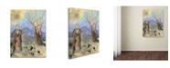 "Trademark Innovations Odilon Redon 'Buddha' Canvas Art - 24"" x 18"" x 2"""