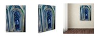 "Trademark Global Robert Delaunay 'Saintseverin' Canvas Art - 19"" x 14"" x 2"""