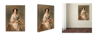 "Trademark Global Winterhalter 'Portrait Of Empress Maria Alexandrovna' Canvas Art - 32"" x 24"" x 2"""