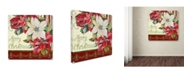 """Trademark Global Jean Plout 'Christmas Time' Canvas Art - 14"""" x 14"""" x 2"""""""