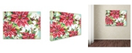 """Trademark Global Jean Plout 'Holiday Celebration 1' Canvas Art - 19"""" x 14"""" x 2"""""""