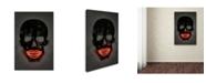 """Trademark Innovations Octavian Mielu 'Skull' Canvas Art - 24"""" x 16"""" x 2"""""""