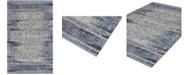 "D Style Zandra Mza5 Silver 9'6"" x 13'2"" Area Rug"