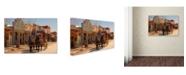 "Trademark Global Mike Jones Photo 'Tombstone X' Canvas Art - 47"" x 30"" x 2"""