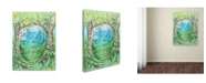 """Trademark Global Michelle Faber 'Into The Forest' Canvas Art - 24"""" x 18"""" x 2"""""""