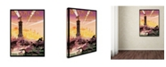 "Trademark Global Vintage Lavoie 'Travel 289' Canvas Art - 47"" x 35"" x 2"""