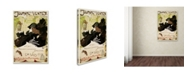 "Trademark Global Vintage Lavoie 'Ads Publishing 2' Canvas Art - 47"" x 30"" x 2"""