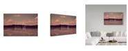 "Trademark Global Vintage Skies 'Explore With Me' Canvas Art - 24"" x 16"" x 2"""