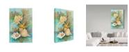 "Trademark Global Joanne Porter 'Shells In The Deep Green Sea' Canvas Art - 24"" x 16"" x 2"""