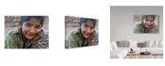 "Trademark Global Mohammadreza Momeni 'Smile 1' Canvas Art - 47"" x 2"" x 35"""