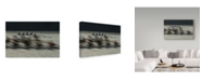 "Trademark Global Milan Malovrh 'Rowing Workers' Canvas Art - 24"" x 2"" x 16"""