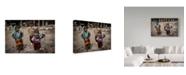 "Trademark Global Mohammadreza Momeni 'It Is My Turn' Canvas Art - 47"" x 2"" x 30"""
