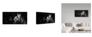 """Trademark Global Mikhail Potapov 'My Horse' Canvas Art - 19"""" x 10"""" x 2"""""""