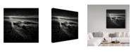 "Trademark Global Yucel Basoglu 'Black Skies' Canvas Art - 24"" x 2"" x 24"""