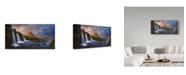 "Trademark Global Miguel Angel Martin 'Kirkjufell Water' Canvas Art - 32"" x 2"" x 16"""