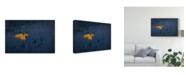 """Trademark Global Michael Zheng 'Heart Of Aspens' Canvas Art - 19"""" x 2"""" x 12"""""""