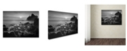 "Trademark Global Moises Levy 'Sunset At Ruby Beach' Canvas Art - 19"" x 14"" x 2"""